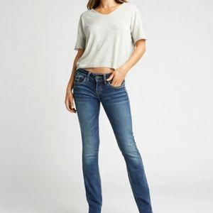 Silver Aiko Slim Jeans